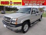 2005 Silver Birch Metallic Chevrolet Silverado 1500 Z71 Crew Cab 4x4 #58387243