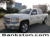 2012 White Diamond Tricoat Chevrolet Silverado 1500 LT Crew Cab #58387113