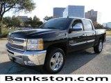 2012 Black Chevrolet Silverado 1500 LT Crew Cab #58387112