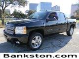 2012 Black Chevrolet Silverado 1500 LTZ Crew Cab #58387111