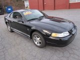 2000 Black Ford Mustang V6 Coupe #58397227