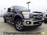 2012 Tuxedo Black Metallic Ford F250 Super Duty Lariat Crew Cab 4x4 #58396616