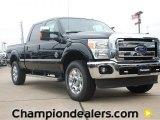 2012 Tuxedo Black Metallic Ford F250 Super Duty Lariat Crew Cab 4x4 #58396610