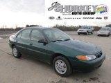 2001 Tropic Green Metallic Ford Escort SE Sedan #58396919