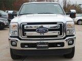 2012 White Platinum Metallic Tri-Coat Ford F250 Super Duty Lariat Crew Cab 4x4 #58396607