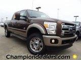 2012 Golden Bronze Metallic Ford F250 Super Duty King Ranch Crew Cab 4x4 #58396604