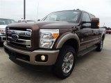 2012 Ford F250 Super Duty Golden Bronze Metallic