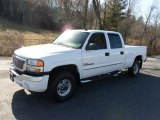 2007 Summit White GMC Sierra 2500HD Classic SLT Crew Cab 4x4 #58397064