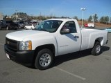 2012 Summit White Chevrolet Silverado 1500 Work Truck Regular Cab #58397056