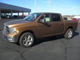 2012 Saddle Brown Pearl Dodge Ram 1500 Big Horn Crew Cab 4x4 #58397051