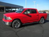 2012 Flame Red Dodge Ram 1500 Big Horn Crew Cab #58397050
