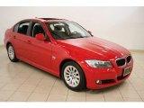2009 Crimson Red BMW 3 Series 328xi Sedan #58397035