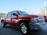 2012 Victory Red Chevrolet Silverado 1500 LT Crew Cab #58396814
