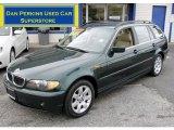 2004 Oxford Green Metallic BMW 3 Series 325xi Wagon #58396499