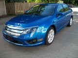 2011 Blue Flame Metallic Ford Fusion SE V6 #58397025
