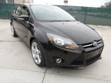 2012 Tuxedo Black Metallic Ford Focus Titanium 5-Door #58396776