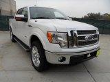 2011 White Platinum Metallic Tri-Coat Ford F150 Lariat SuperCrew 4x4 #58396757