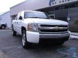 2008 Summit White Chevrolet Silverado 1500 LS Crew Cab #58447902