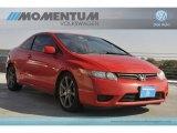 2007 Rallye Red Honda Civic EX Coupe #58448175