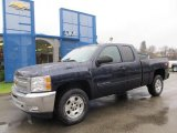 2012 Black Granite Metallic Chevrolet Silverado 1500 LT Extended Cab 4x4 #58447615