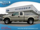 2000 Harvest Gold Metallic Ford F250 Super Duty XLT Extended Cab 4x4 #58447594