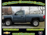 2012 Blue Granite Metallic Chevrolet Silverado 1500 Work Truck Regular Cab 4x4 #58448137