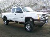 2003 Summit White Chevrolet Silverado 2500HD LS Extended Cab 4x4 #58448108