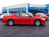 2006 Victory Red Chevrolet Monte Carlo SS #58447537