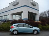 2012 Frosted Glass Metallic Ford Focus SE 5-Door #58447532