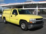 2000 Chevrolet Silverado 1500 Fleet Yellow