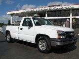 2006 Summit White Chevrolet Silverado 1500 Work Truck Regular Cab #58448085