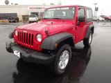 2011 Flame Red Jeep Wrangler Sport S 4x4 #58447810