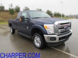 2012 Dark Blue Pearl Metallic Ford F250 Super Duty XLT SuperCab 4x4 #58447478