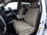 2012 Toyota Tundra TRD CrewMax 4x4 Sand Beige Interior