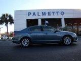 2011 Steel Blue Metallic Ford Fusion SEL V6 #58447761