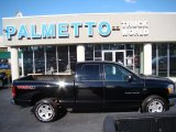 2006 Brilliant Black Crystal Pearl Dodge Ram 1500 SLT Quad Cab 4x4 #58447760