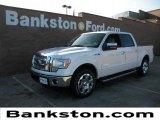 2011 White Platinum Metallic Tri-Coat Ford F150 Lariat SuperCrew #58447415