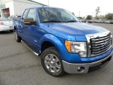 2011 Blue Flame Metallic Ford F150 XLT SuperCab #58447743