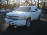 2012 Summit White Chevrolet Silverado 1500 LT Crew Cab 4x4 #58447994