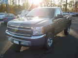 2012 Mocha Steel Metallic Chevrolet Silverado 1500 LS Regular Cab #58447993