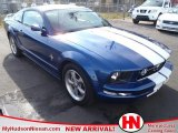 2006 Vista Blue Metallic Ford Mustang V6 Deluxe Coupe #58447276
