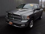 2010 Mineral Gray Metallic Dodge Ram 1500 Big Horn Quad Cab 4x4 #58447966