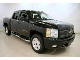 2010 Black Granite Metallic Chevrolet Silverado 1500 LT Crew Cab 4x4 #58447960