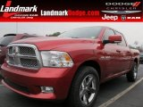 2009 Inferno Red Crystal Pearl Dodge Ram 1500 Sport Crew Cab #58447654