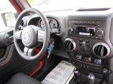 2011 Jeep Wrangler Sport S 4x4 Dashboard