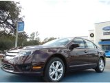 2012 Bordeaux Reserve Metallic Ford Fusion SE #58501431