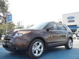 2012 Cinnamon Metallic Ford Explorer Limited #58501420