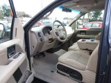 2005 Ford F150 XLT SuperCab Tan Interior