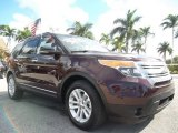 2011 Bordeaux Reserve Red Metallic Ford Explorer XLT #58501408