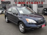 2008 Royal Blue Pearl Honda CR-V LX #58501378